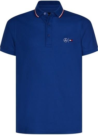 Tommy Hilfiger Erkek 2 Mb Ss Clımate Control Tişört TT0TT05790 Mavi